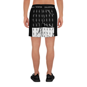 Marbled B&W Athletic Shorts - YOUHAVELANDED