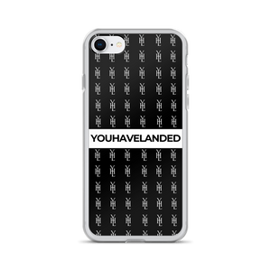 Black All-Over Print iPhone Case - YOUHAVELANDED
