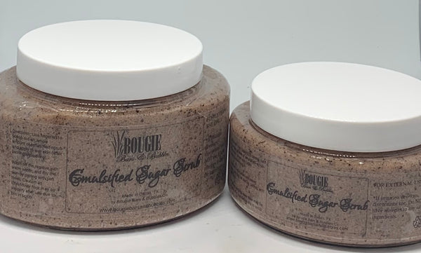 Latte Love Emulsified Sugar Scrub - bougie-bars-bubbles-co