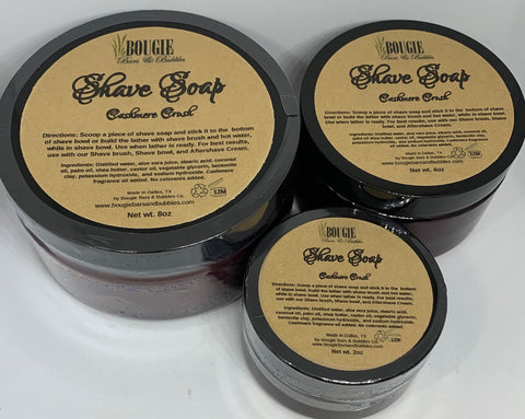 Bougie Shave Soap - bougie-bars-bubbles-co