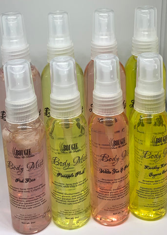 Bougie's Body Mists - bougie-bars-bubbles-co - gift - body spray