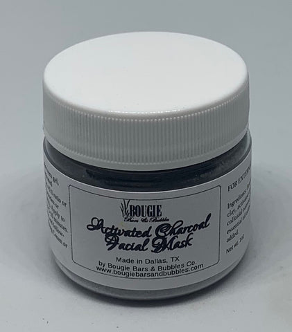 Activated Charcoal Facial Mask - bougie-bars-bubbles-co