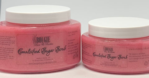 Pink Sugar So Sweet Emulsified Sugar Scrub - bougie-bars-bubbles-co