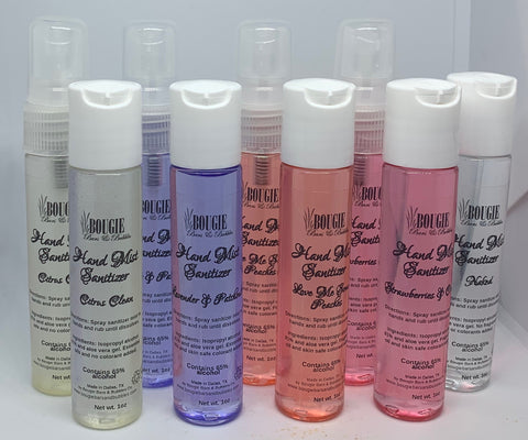 Bougie's Hand Mist Sanitizer
