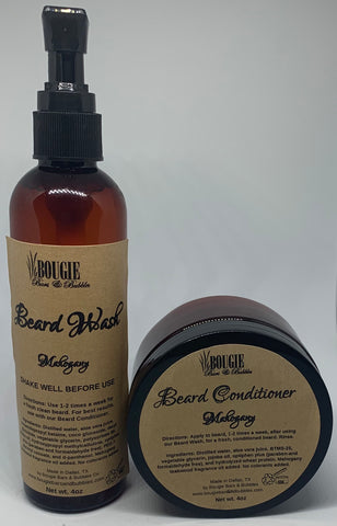 Bougie Beard Wash & Conditioner Kit - bougie-bars-bubbles-co