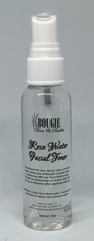 Rose Water Face Toner - bougie-bars-bubbles-co