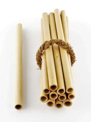 Coco Candle Co - bamboo straw combo value pack