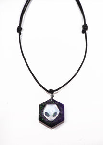Despina Alien Crystal Necklace