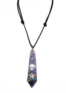 Cetus Alien Crystal Necklace