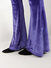 Load image into Gallery viewer, Velvet Flare Pant