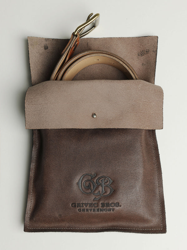 Service Belt Brown