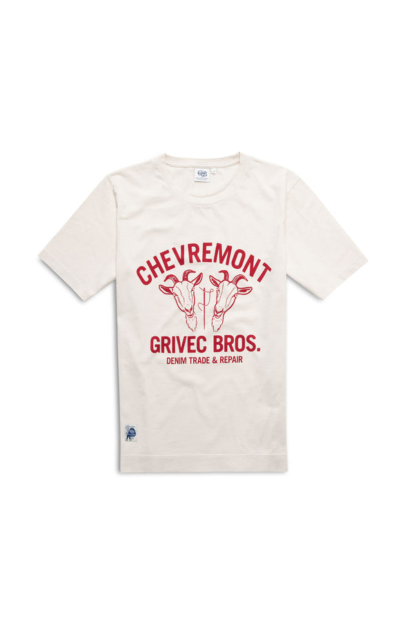 Shop Tee Off-White Red