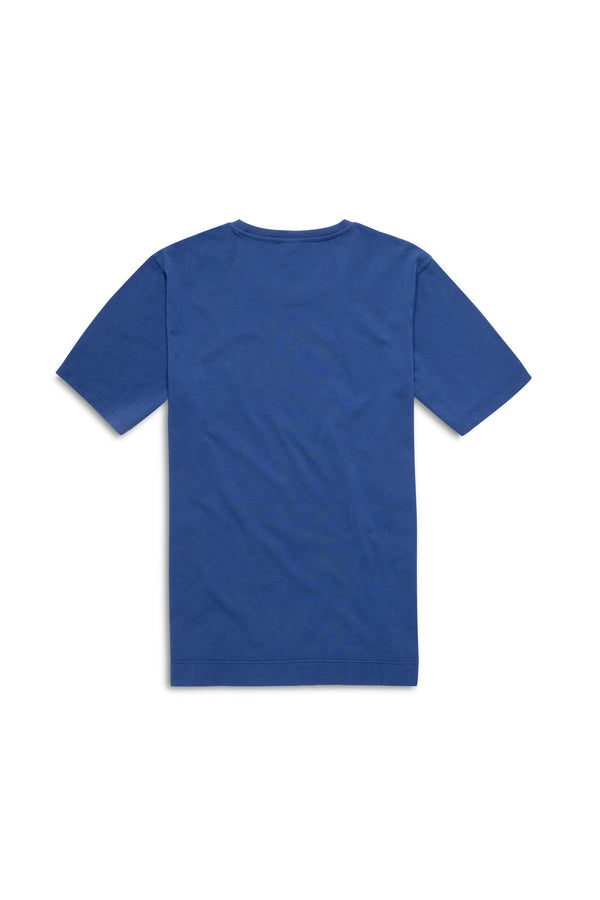 Shop Tee Blue White