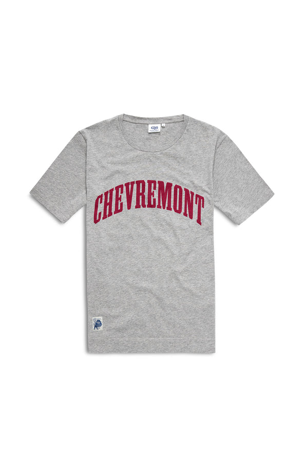 Chevremont Tee Grey Melange Red