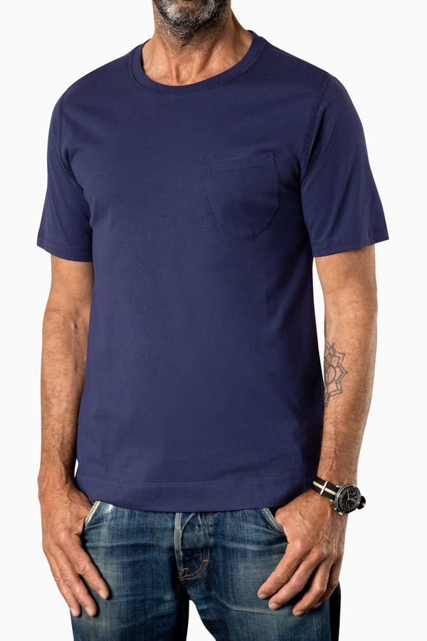 Curved Pocket Tee Eclips