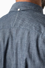 Worker-shirt 3/4 sleeve Chambray