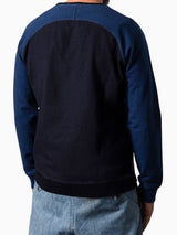 Limited Sweater Two Tone Indigo Dyed Mascotte