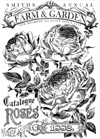 Catalogue of Roses 24×33 Decor Transfer™