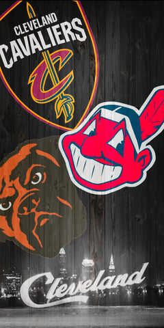 3 team Cleveland boards.