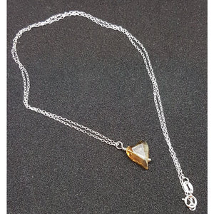 Golden heart Necklace - Necklace