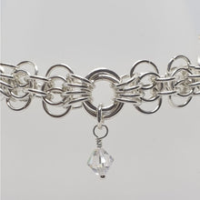 Load image into Gallery viewer, Sterling silver Butterfly weave bracelet - Bracelets