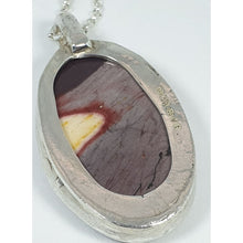 Load image into Gallery viewer, Sterling silver Mookaite Pendant - Necklace