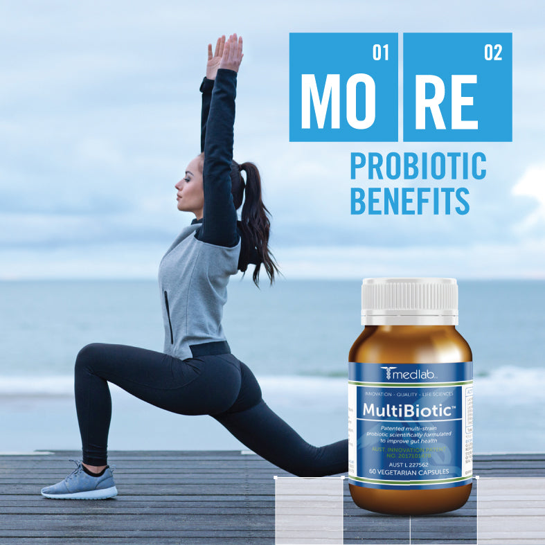 More Probiotic Benefits with Medlab MultiBiotic