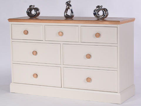 Stamford Two Tone Painted 3 over 4 Chest