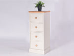 Stamford Two Tone Painted 4 Drawer Narrow