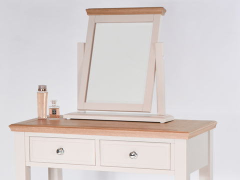 Stamford Two Tone Painted Dressing Table Mirror