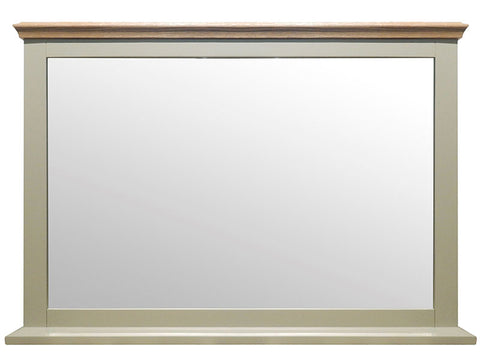 Stamford Two Tone Painted Wall Mirror