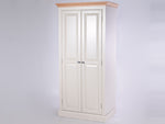 Stamford Two Tone Painted Full Hanging Double Wardrobe