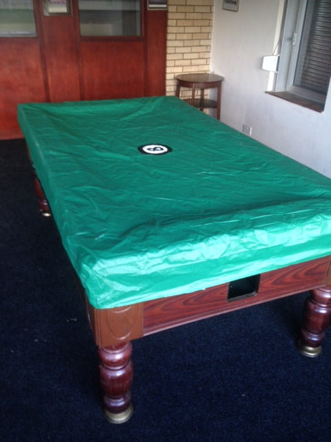 Elasticated 8 Ball logo Table Cover