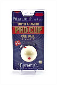 "Aramith ProCup Spoted White Ball 1""7/8ths"