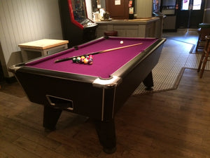 ***IN STOCK*** 7' Supreme Winner Coin Operated Pool table