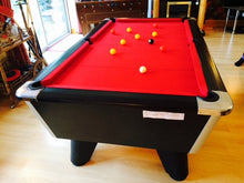Load image into Gallery viewer, ***RECONDITIONED*** 6' x 3' Black Supreme Winner Free Play Pool table
