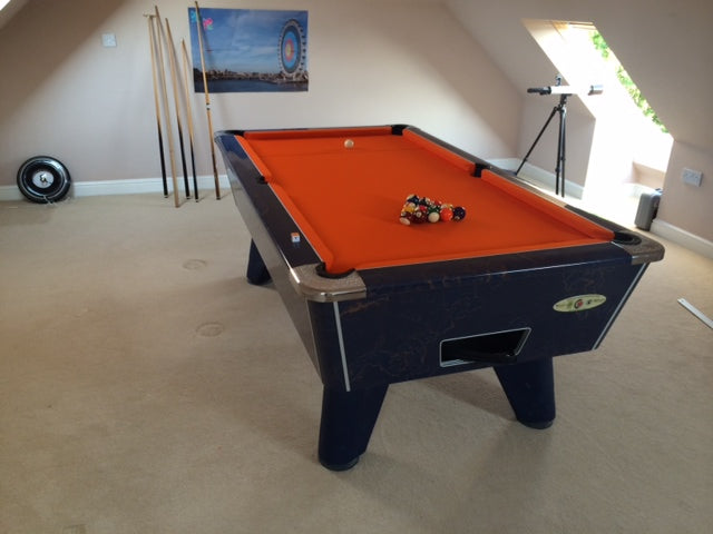 English Pool Table Recovering