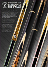 Load image into Gallery viewer, Hellfire Britannia Cue Steel Range