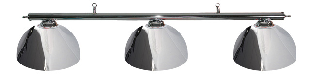 Traditional Chrome Canopy With 3 Shades