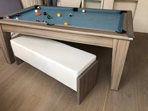 Supreme Driftwood Classic Meeting Pool Table