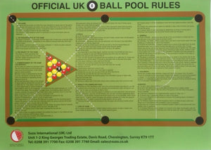 Traditional English Pool Rules