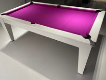 Load image into Gallery viewer, Supreme Gloss White Laminate Finish Classic Meeting Pool Table *EXCLUSIVE to SUPERPOOL*