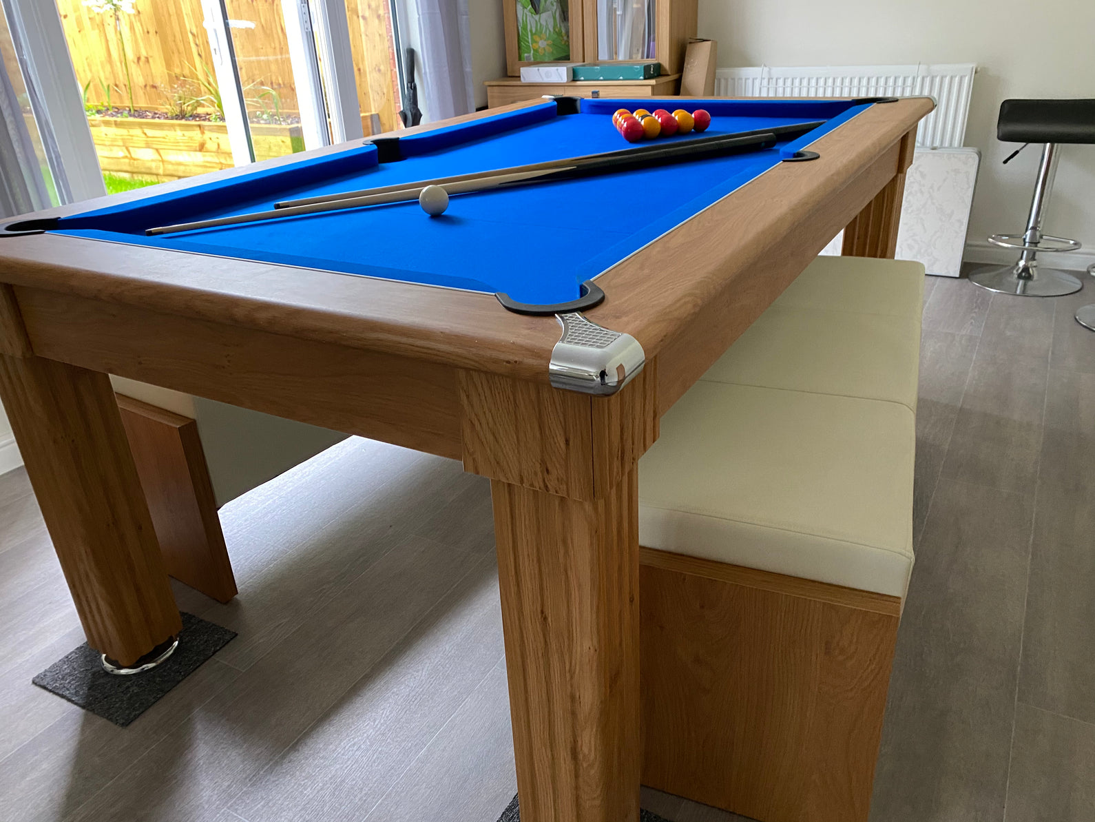 Supreme Traditional Dining Pool Table