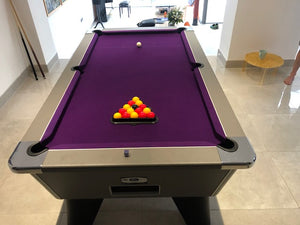 DPT Omega Pro 7' x 4' Onyx Grey Free Play  Pool table IN STOCK