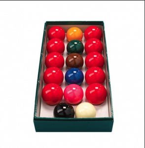 "Standard 2"" Snooker Set"