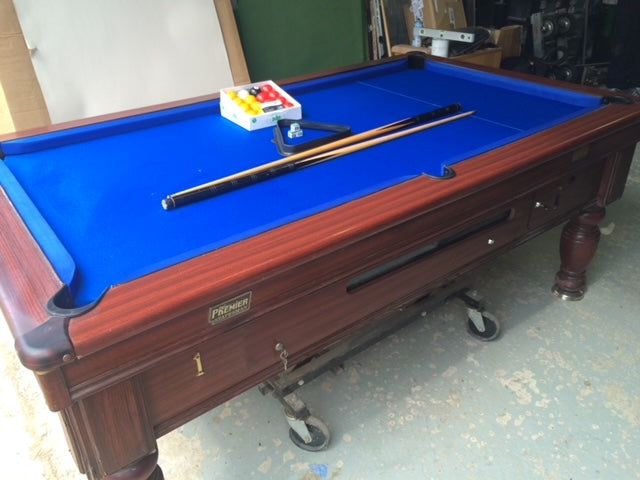 Premier Statesman 7' x 4' Reconditioned Pool table
