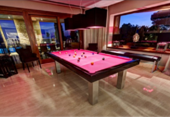 Toulet Loft Pool Dining table
