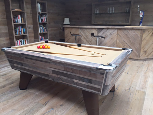 **IN STOCK** Supreme Winner 6' Vintage Festival Free Play Championship Pool table in Premium Finish