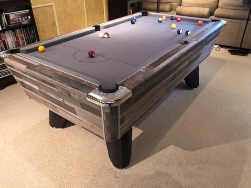 **IN STOCK** Supreme Winner 7' Vintage Festival Free Play Championship Pool table in Premium Finish
