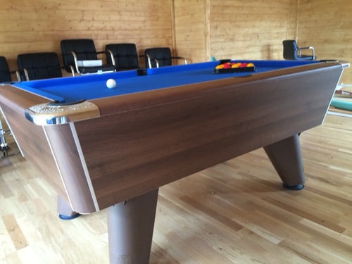**IN STOCK** Supreme Winner 7' Walnut Free Play Championship Pool table.